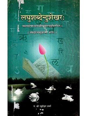 लघुशब्देन्दुशेखर- Laghu Shabdendu Shekhar (An Old and Rare Book)