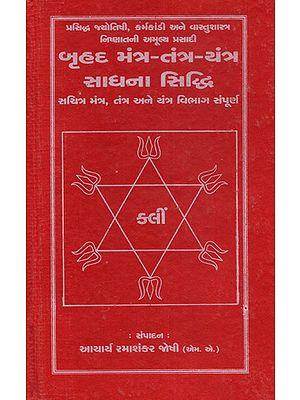 Bruhad Mantra- Tantra- Yantra Sadhana Siddhi (Gujarati)