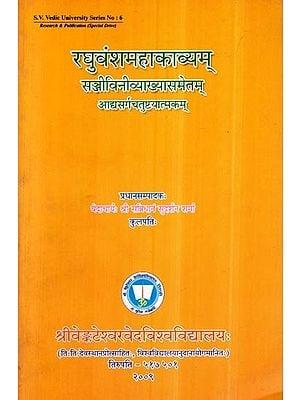 रघुवंशमहाकाव्यम्- Raghuvansh Mahakavyam (Sanjivini Vyakhyasametam)