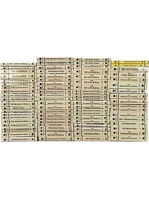 Puranas Translated Into English (Set of 79 Volumes)