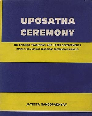 Uposatha Ceremony (An Old and Rare Book)