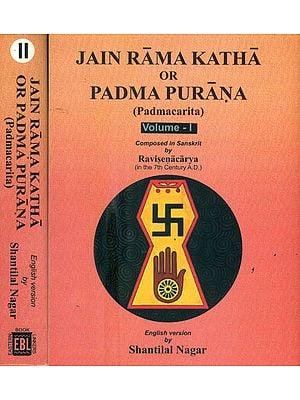 Jain Rama Katha or Padma Purana - Padmacarita (Set of 2 Volumes)