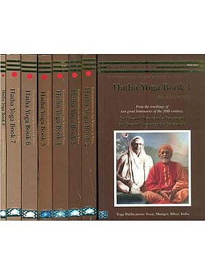 Hatha Yoga: The Ultimate Book (Set of 8 Volumes)