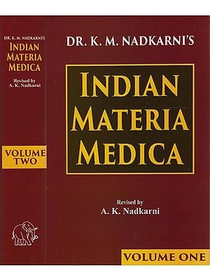 Indian Materia Medica (Set of Two Volumes)
