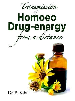 Transmission Homoeo Drug-energy from a distance