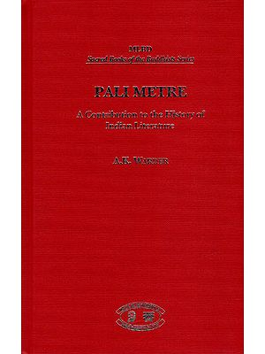 Pali Metre (A Contribution to The History of India Literature)