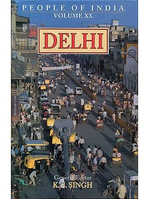 Delhi - People of India (An Old and Rare Book)