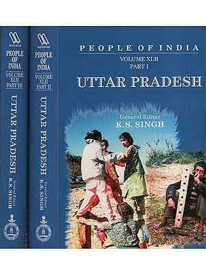 Uttar Pradesh – People of India (Set of Volume - 3)