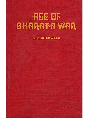 Age of Bharata War (An Old And Rare Book)
