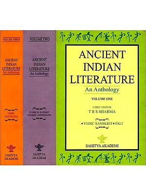Ancient Indian Literature - An Anthology (Set of 3 Volumes)