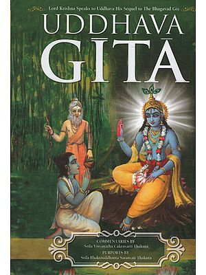 The Uddhava Gita (Sarartha Darsini Commentary By Srila Visvanatha Cakravarti Thakura Chapter Summaries and Gudia Bhasya Purport by Srila Bhaktisiddhanta Sarasvati Thakura
