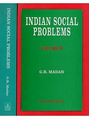 Indian Social Problems (Set of 2 Volumes)