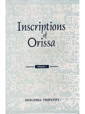 Inscriptions of Orissa