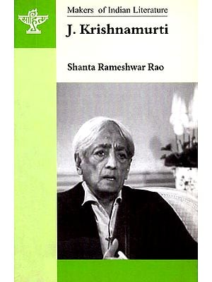 J. Krishnamurti (Makers of Indian Literature)