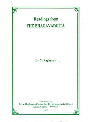 Reading from The Bhagavad Gita