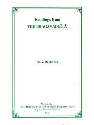 Reading from The Bhagavad Gita