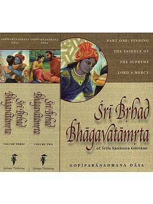 Sri Brhad Bhagavatamrta of Srila Sanatana Gosvami (Set of 3 Volumes)