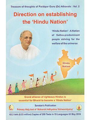 Direction on Establishing The Hindu Nation