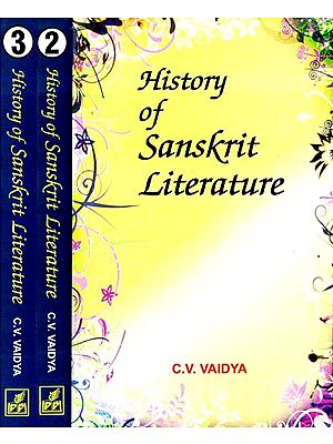 History of Sanskrit Literature (Set of 3 Volumes)