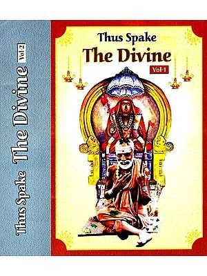 Thus Spake The Divine (Set of 2 Volumes)