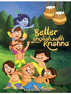 Better English With Krishna (Colouring Book)