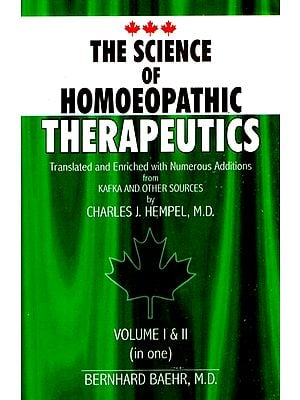 The Science of Homoeopathic Therapeutics