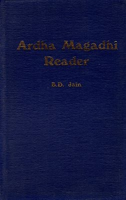 Ardha Magadhi Reader (An Old and Rare Book)