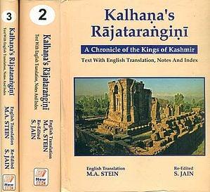 Kalhana's Rajatarangini -A Chronicle of the Kings of Kashmir (Set of 3 Volumes)