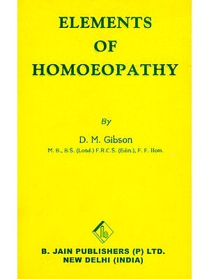 Elements of Homoeopathy