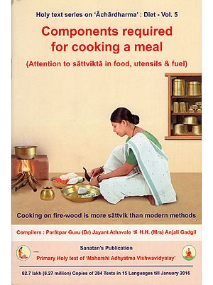 Components Required for Cooking a Meal