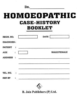 Homoeopathic Case-History Booklet