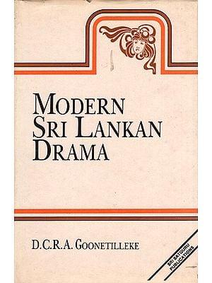 Modern Sri Lankan Drama (An Old Book)