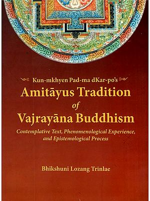 Amitayus Tradition of Vajrayana Buddhism (Contemplative Text, Phenomenological Experience, and Epistemological Process)