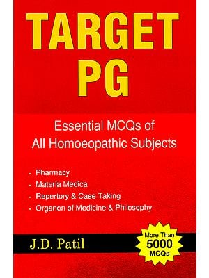 Target PG (Essential MCQs of All Homoeopathic Subjects)