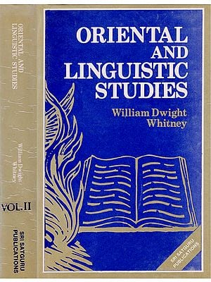 Oriental and Linguistic Studies in 2 Volumes (An Old and Rare Book)
