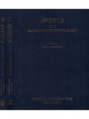 Avesta - The Sacred Book of The Parsis (Set of 3 Volumes)