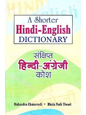 A Shorter Hindi-English Dictionary