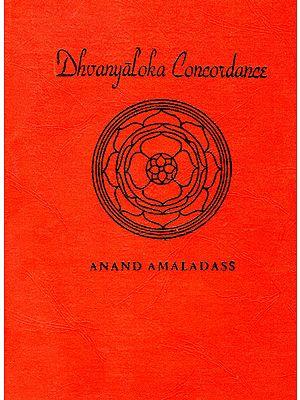 Dhvanyaloka Concordance (An Old and Rare Book)