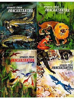 Stories from Panchatantra (Set of 4 Volumes)