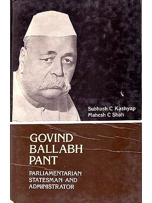 Govind Ballabh Pant (An Old and Rare Book)