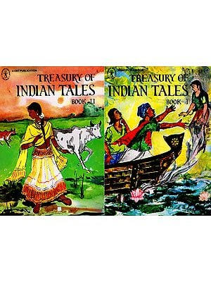 Treasury of Indian Tales (Set of 2 Volumes)