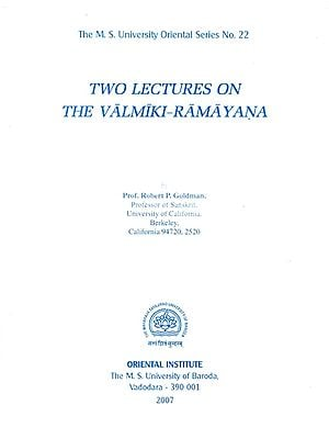 Two Lectures on The Valmiki-Ramayana