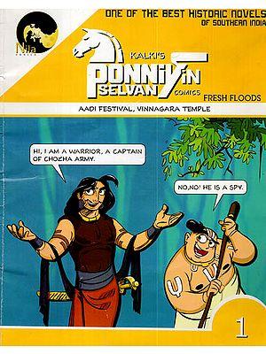 Fresh Floods ( Kalki's Ponniyin Selvan Comic )