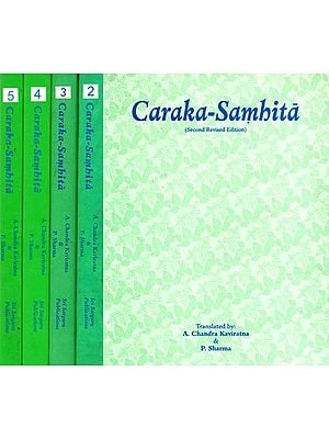 Caraka-Samhita (Set of 5 Volumes)