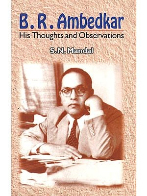 B.R. Ambedkar his Thoughts and Observations