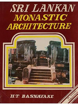 Sri Lankan Monastic Architecture (An Old and Rare Book)