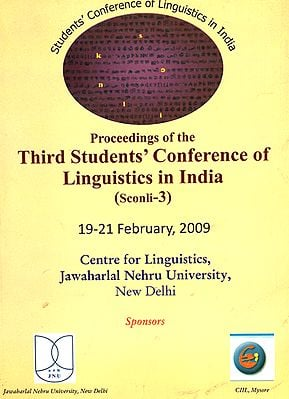 Proceedings of the Third Students' Conference of Linguistics in India (Sconli-3)