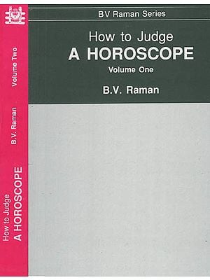 How to Judge A Horoscope ( Set of 2 Volumes )