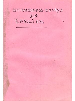 Standard Essays in English (Old and Rare Book)