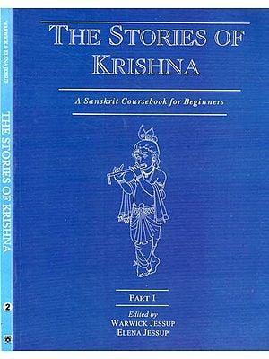 The Stories of Krishna - A Sanskrit Coursebook for Beginners (Set of 2 Volumes)